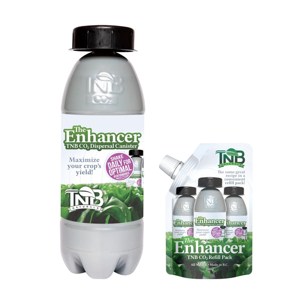 TNB Naturals The Enhancer CO2 Canister - Bottle w/ Refill Bag