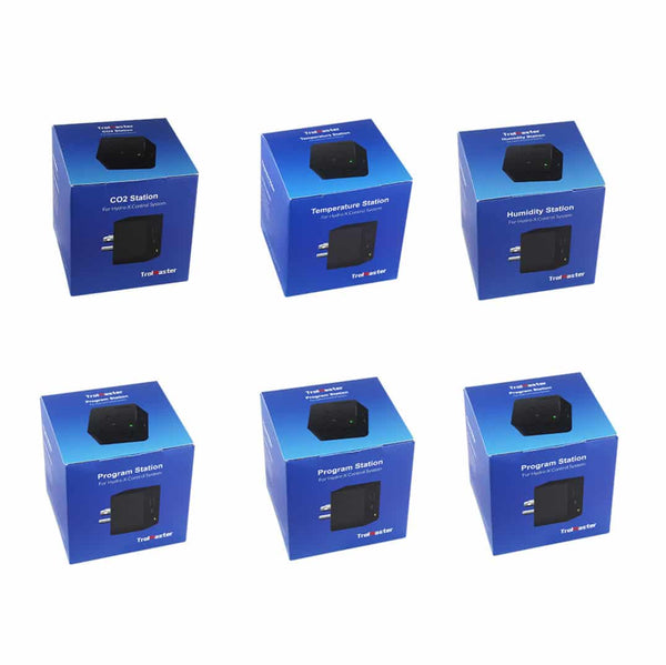 TrolMaster Hydro-X Device Station 6 Pack [1xDSC, 1xDSH, 1xDST, 3xDSP]