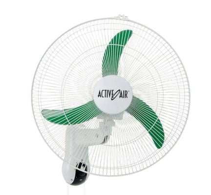 "Active Air 18"" Oscillating Wall Fan"