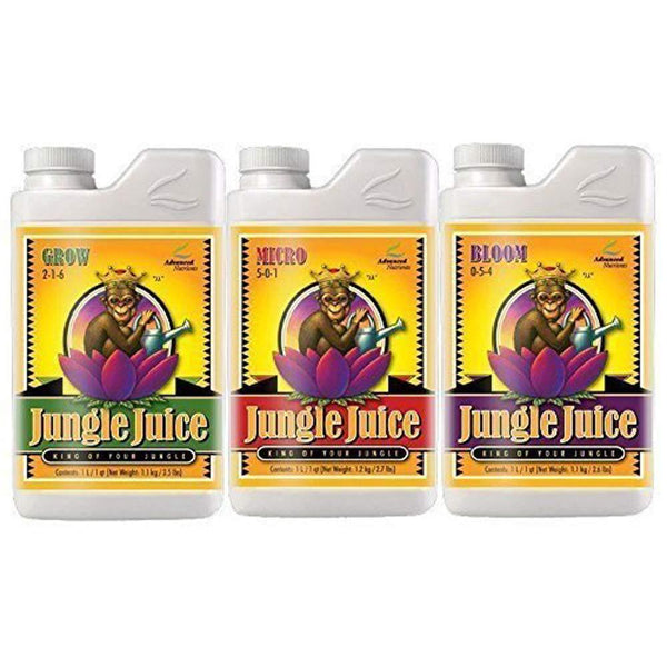 Advanced Nutrients Jungle Juice Bloom, Micro & Grow