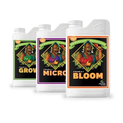 Advanced Nutrients pH Perfect Bundle Grow, Micro and Bloom Trio