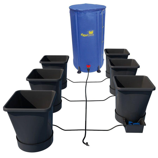 AutoPot 6Pot XL System (25L pots) Kit with 25 Gallon FlexiTank Included