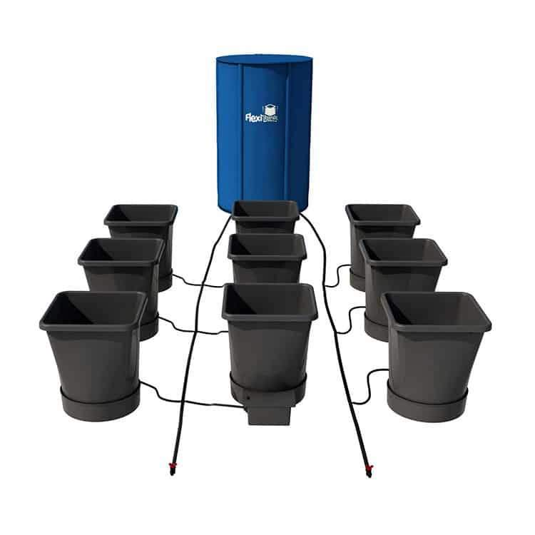 AutoPot 9Pot XL (25L) System Kit with 25 Gallon Tank Included