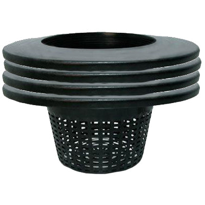 "Basket & Lid 6"" full web 20 L Mesh Basket (4 pack)"