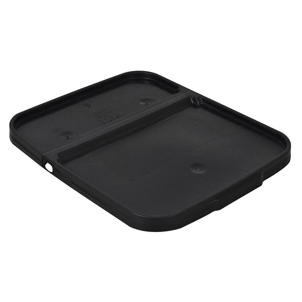 Bucket Lids for 8 & 13 Gallon Bucket Black Square