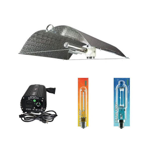 Complete Lighting Package Wing Reflector HPS & MH 600W Kit