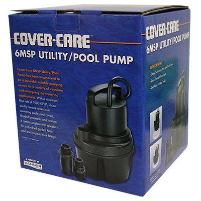 COVER-CARE PUMP 6MSP 1 / 6 OIL-FREE 1400 GPH