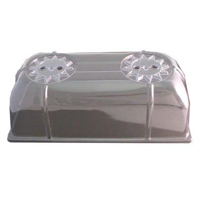 De Luxe Ventilated Dome 6.5'' X 21'' X 11'' (2 Pack)