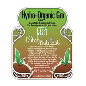 Dutch Nutrient Formula DNF Organic Grow 1Liter