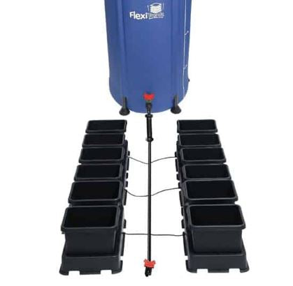 AutoPot Easy2Grow 12 Pots Complete Watering Systems - Black