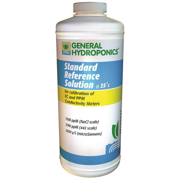 General Hydroponics Calibration Solution 1500 PPM 1 Quart in Canada - IndoorGrowingCanada