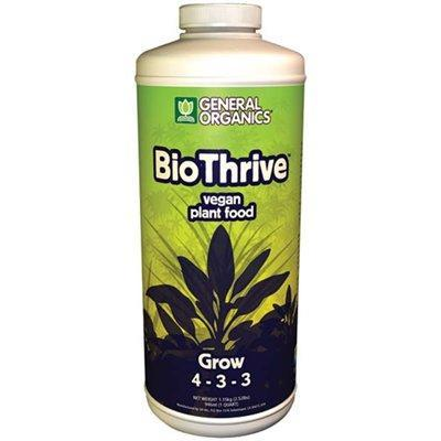 General Organics BioThrive Grow 946ml Nutrient in Canada - IndoorGrowingCanada