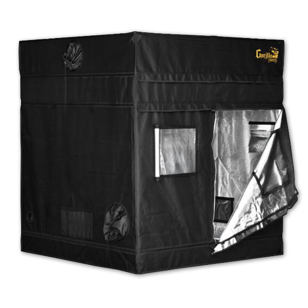 "Gorilla 5' x 5' x 4'11"" w/ Ext 5'8"" Grow Tents Shorty Series"