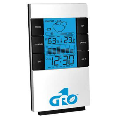 Gro1 Grow 1 Digital Weather Station Non-Wireless in Canada - IndoorGrowingCanada