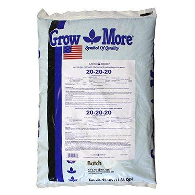 GrowMore SOLUBLE FERTILIZER 20-20-20 11.36kg in Canada - IndoorGrowingCanada