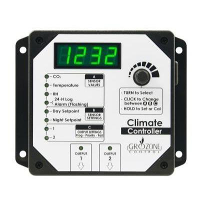 Grozone HTC Climate, CO2, RH and Temp Controller in Canada - IndoorGrowingCanada