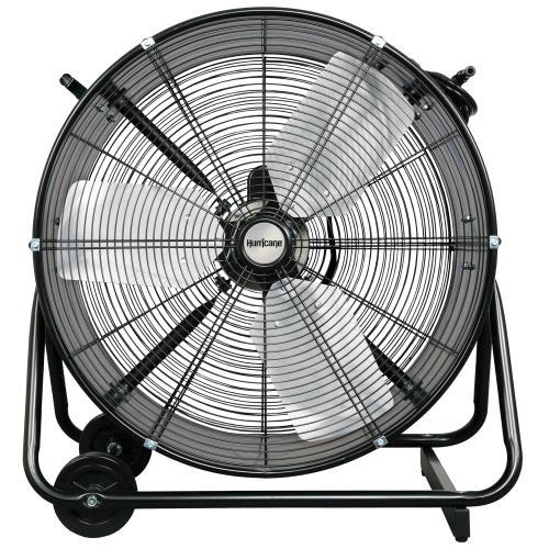 Hurricane Pro Heavy Duty Adjustable Tilt Drum Fan 24 in Fans