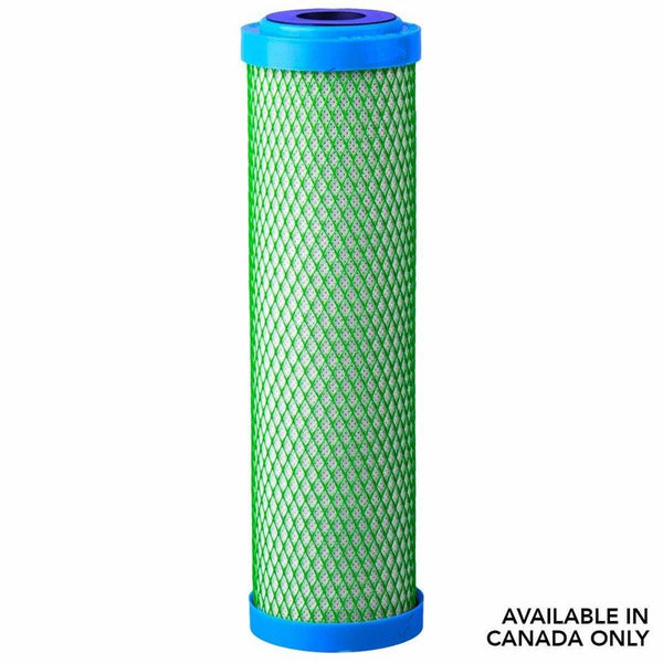 "Hydrologic  Carbon Filter Green Coco 10"" x 2.5"" in Canada - IndoorGrowingCanada"