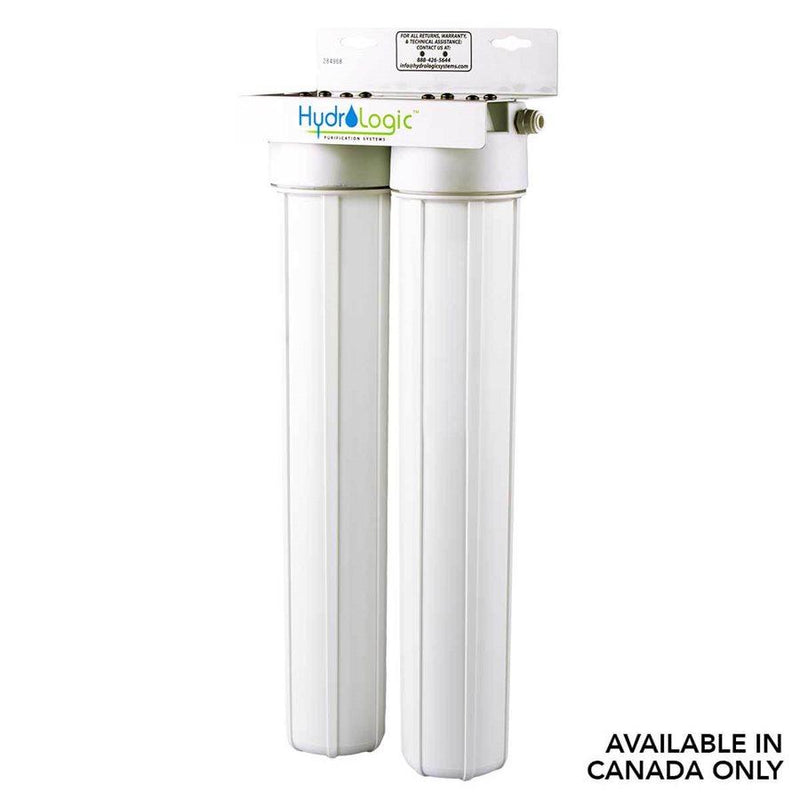 HydroLogic Tall Boy De-Chlorinator  Sediment Filter 2gpm