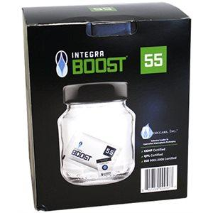 Integra Boost HUMIDITY REGULATOR RH55% 67g  (box of 24) in Canada - IndoorGrowingCanada