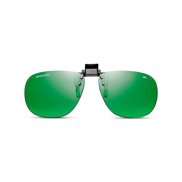 Method Seven Glasses Aviator Blurple LED Clip-On