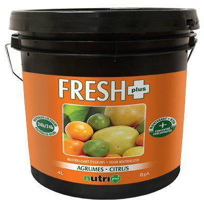 Nutri+ Fresh+ Citrus Odor Neutralizer 4L in Canada - IndoorGrowingCanada