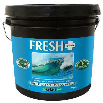 Nutri+ Fresh+ Ocean Breeze Odor Neutralizer Gel 4L in Canada - IndoorGrowingCanada