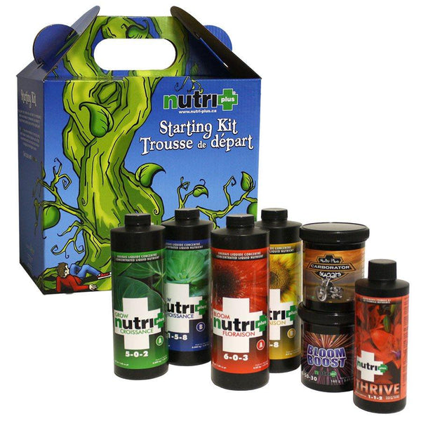 Nutri+ Nutrients and Additives Starting Kit