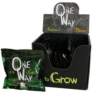 One Way GROW 10-8-18  /  ONE BOX OF 6 PKG OF 2 BAGS in Canada - IndoorGrowingCanada