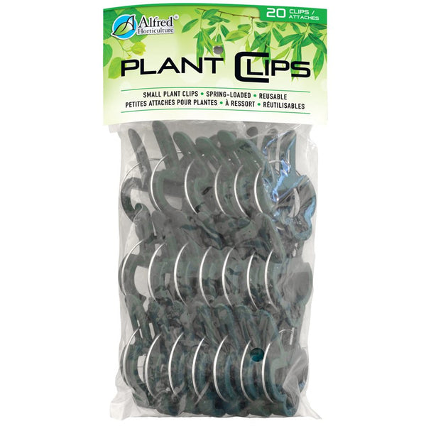 "Alfred Horticulture Plant Clips Spring Loaded Large 2 1 / 2"" x 1 3 / 4"" 20 / pk"