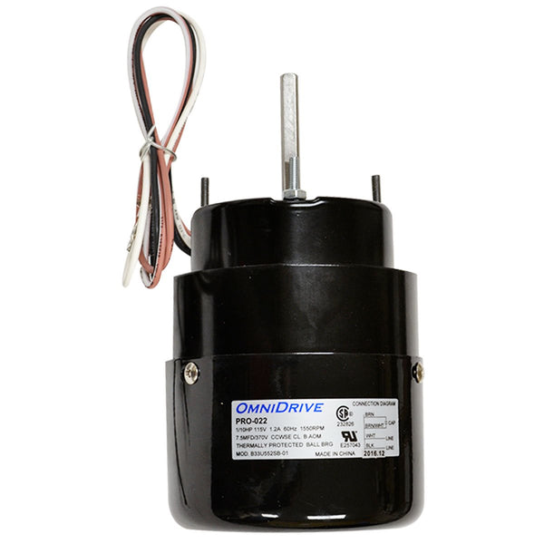 Pro-Cut Fast or P2X Motor W / Capacitor