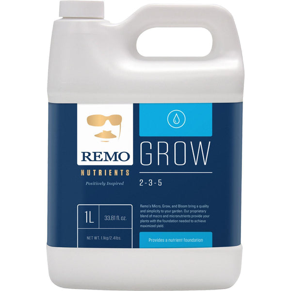 Remo Nutrients Remo's Grow 1 Liter in Canada - IndoorGrowingCanada