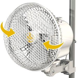 (DISCONTINUED) Secret Jardin MONKEY FAN OSCILLATING 20W 8.25'' in Canada - IndoorGrowingCanada