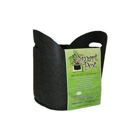 "Smart Pot #5 (HANDLES) 5 GAL / 19 L 12"" / 30 CM Black Fabric Pot"