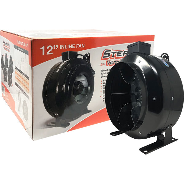 "Stealth Fan 12"" 1100 CFM Inline Fan"