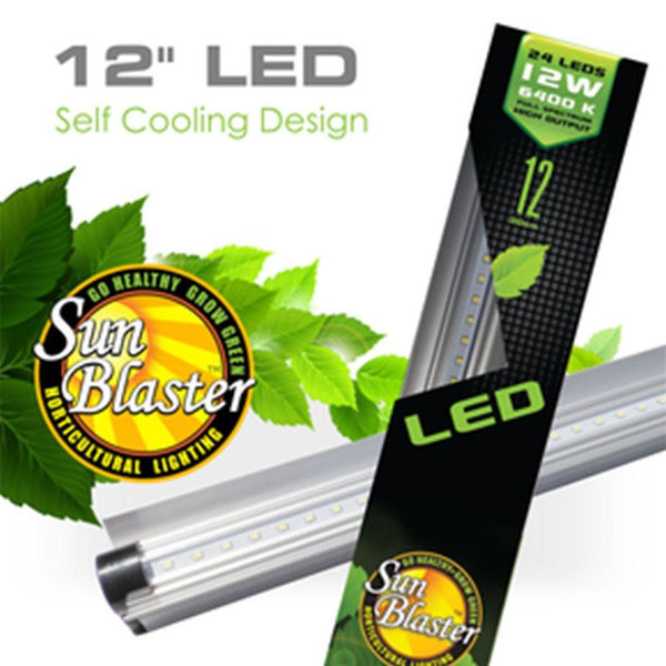 SunBlaster LED Strip Light HO 6400K 12W 12''