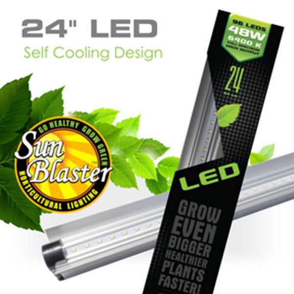 SunBlaster LED Strip Light HO 6400K 24W  2'