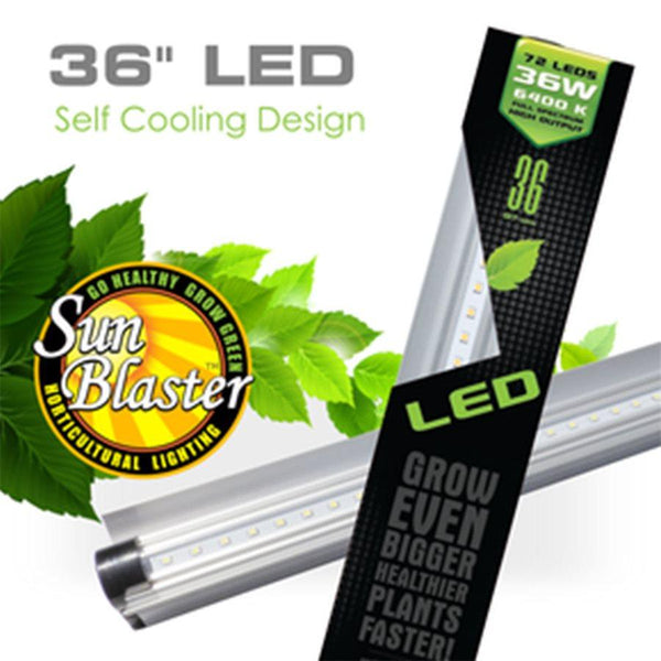 SunBlaster LED Strip Light HO 6400K 36W 3ft