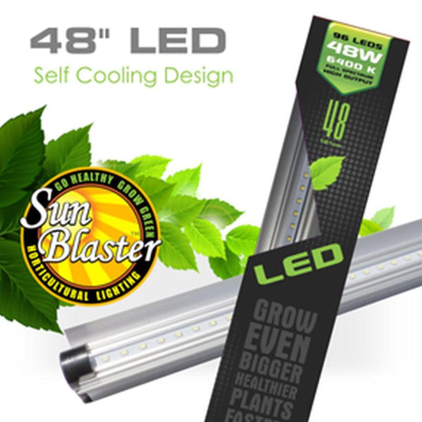 SunBlaster LED Strip Light HO 6400K 48W 4'