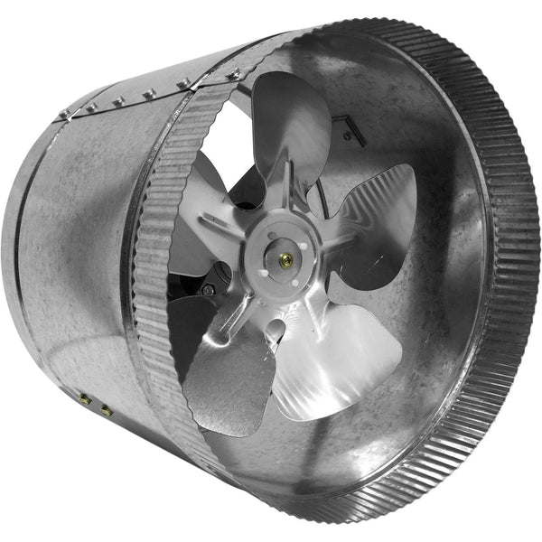 "Vortex VAT800 332 CFM 8"" Inline Fan"
