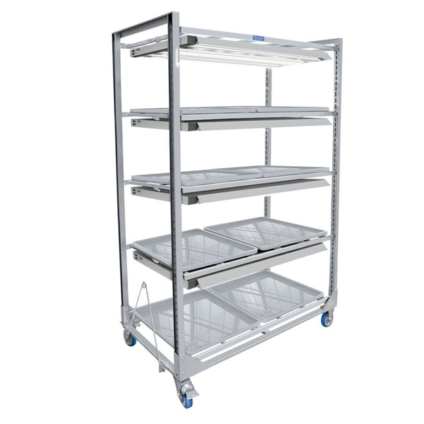 Wachsen Cloning Cart 4 Level w/ T5 Lighting