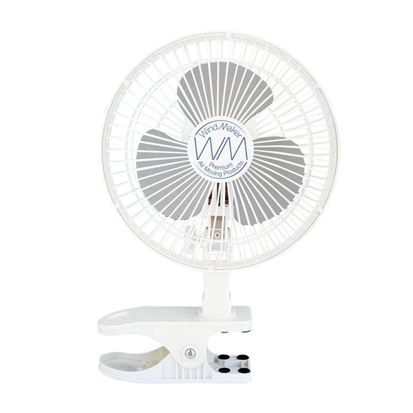 "Windmaker clip fan 6"" 15W 120v 2 speeds in Canada - IndoorGrowingCanada"