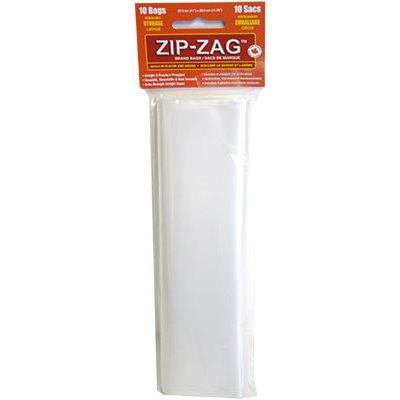 Zip-Zag Original Large Bags 27.9 cm X 29.8 cm (10) Accessories in Canada - IndoorGrowingCanada