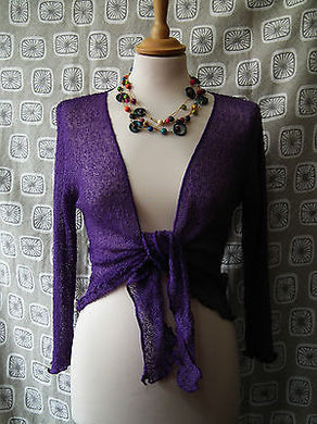GRINGO FINE KNIT SHRUG CARDIGAN * FAIR TRADE * FREE SIZE 6 - 20 +