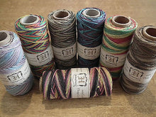 HEMPTIQUE VARIEGATED HEMP CORD FULL LARGE ROLL 62.5m 1mm 20lb BEADING JEWELLERY