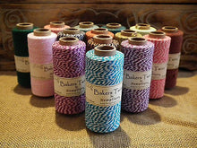 COTTON BAKERS TWINE - EXTRA LARGE ROLL 125m 4 PLY - CHOICE OF COLOURS HEMPTIQUE