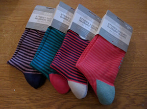 BAM Bamboo Socks Size 4-7  Pick Your Colour Womens Soft Breathable Eco Friendly