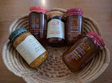 ESWATINI KITCHEN FAIR TRADE PRESERVES - CHUTNEYS & PICKLES