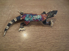 RECYCLED TIN ENAMEL HANGING ORNAMENT * MEXICO FAIR TRADE FISH SEAHORSE DOLPHIN