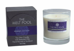MELT POOL SOY WAX BOXED CANDLE - CHOICE OF FRAGRANCE